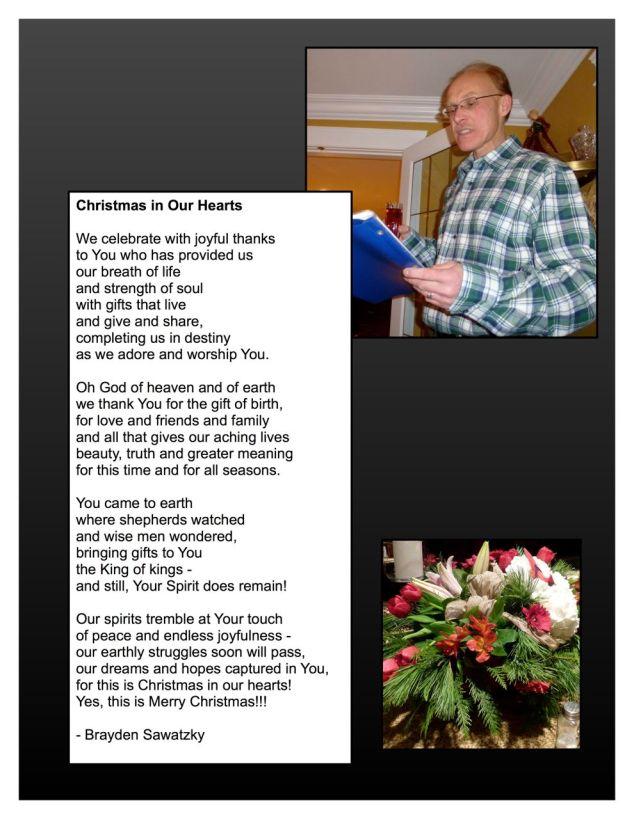 msa pps Christmas potluck - poem by Brayden Sawatzky
