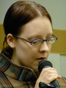 Emily Isaacson - Abbotsford poetry reading