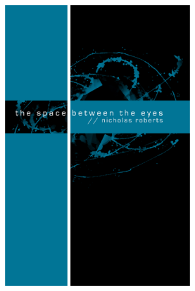 'the space between the eyes' book cover
