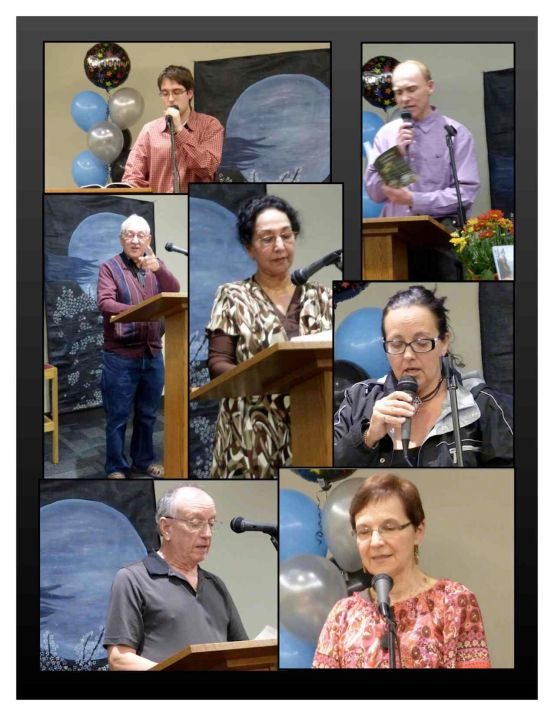 PPS Open Mic readers - October 7, 2013