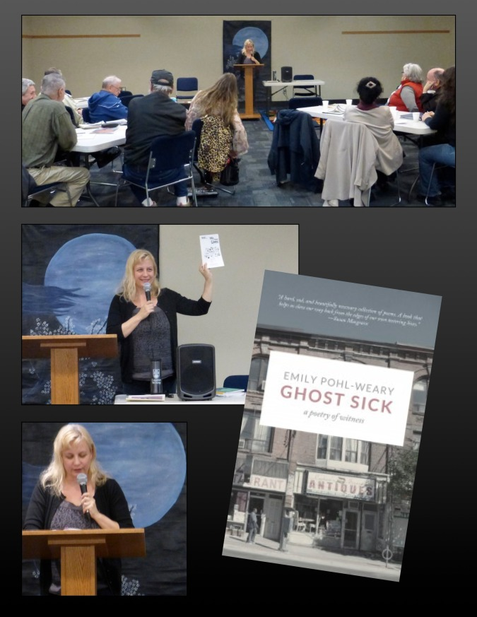 March 23 Blue Moon Reading with Emily Pohl-Weary