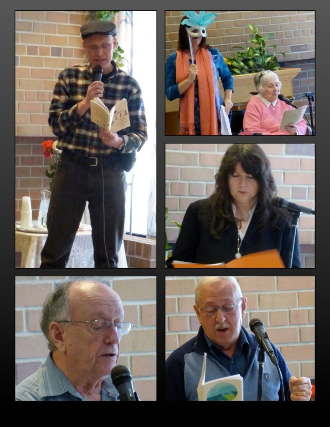 FVPS members read at the Cottage #1 - February 28, 2015