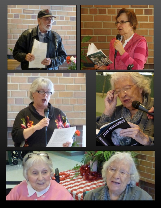 FVPS members read at the Cottage #2 - February 28, 2015