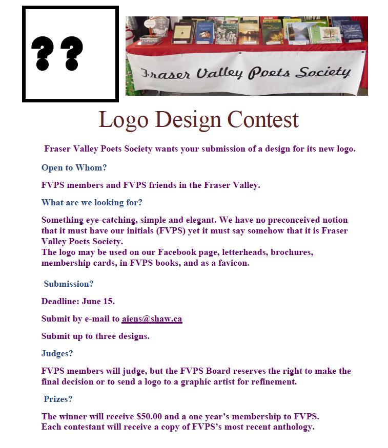 FVPS Logo Design Contest Poster