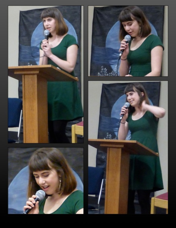 Mackenzie Lee - poetry reading